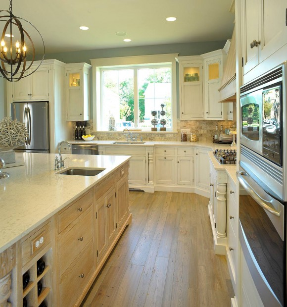 Mullet Cabinet Bright Whitewashed Kitchen