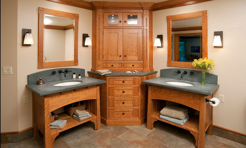 Mullet Cabinet Arts Crafts Bathroom