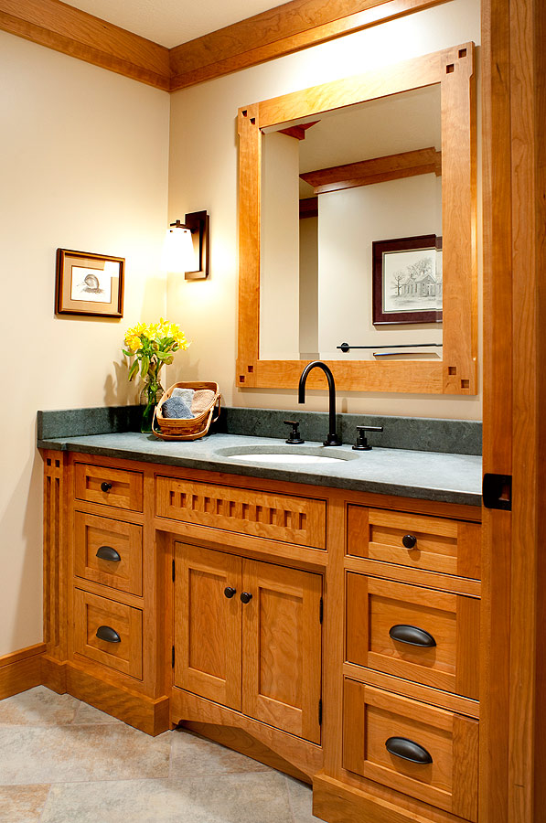 Mullet Cabinet Mission Style Main Bath