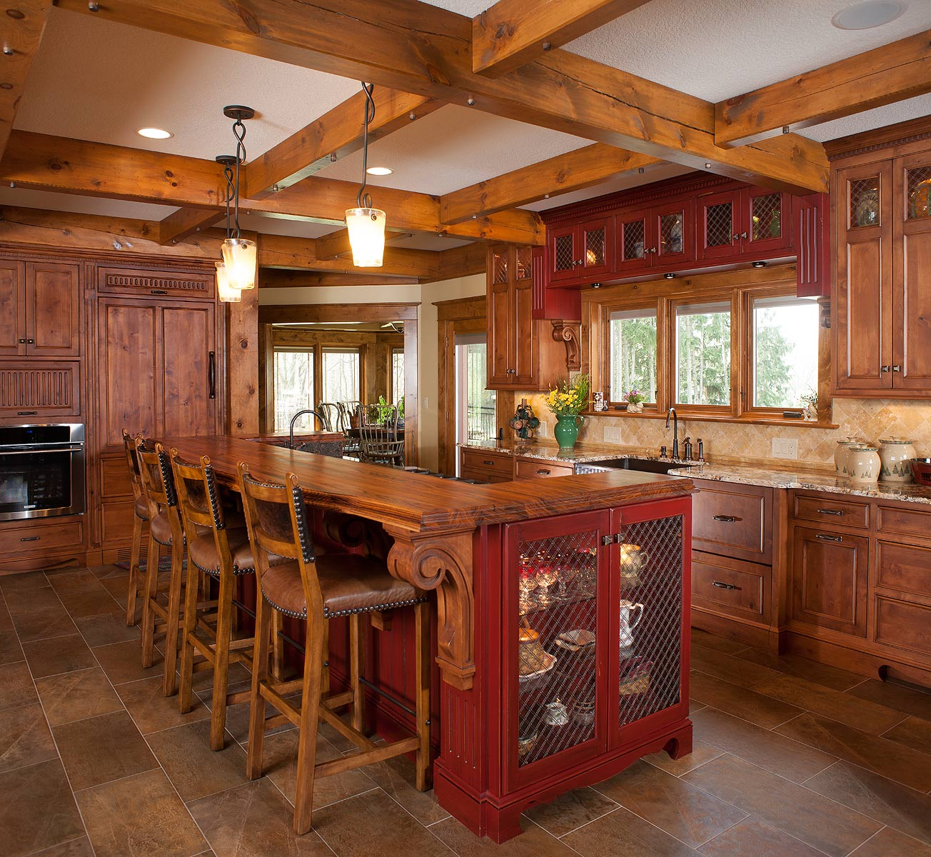 Home Design Ideas Book: Mullet Cabinet Rustic Kitchen Retreat