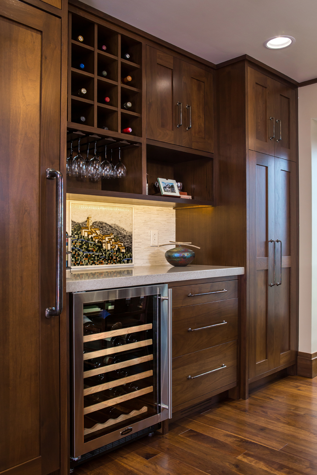 Mullet Cabinet Countryside Transitional Kitchen With A