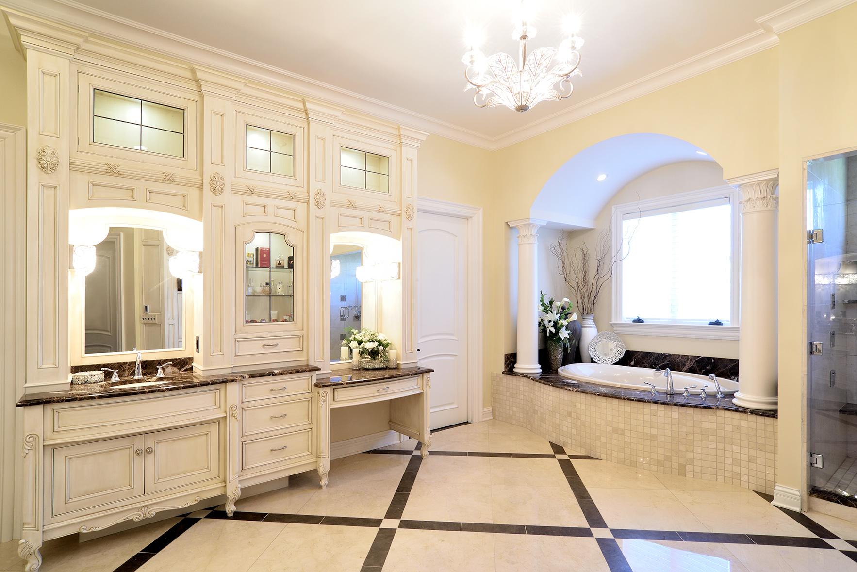 Bathrooms En Suite Meaning: Opulent Ensuite Master Bath