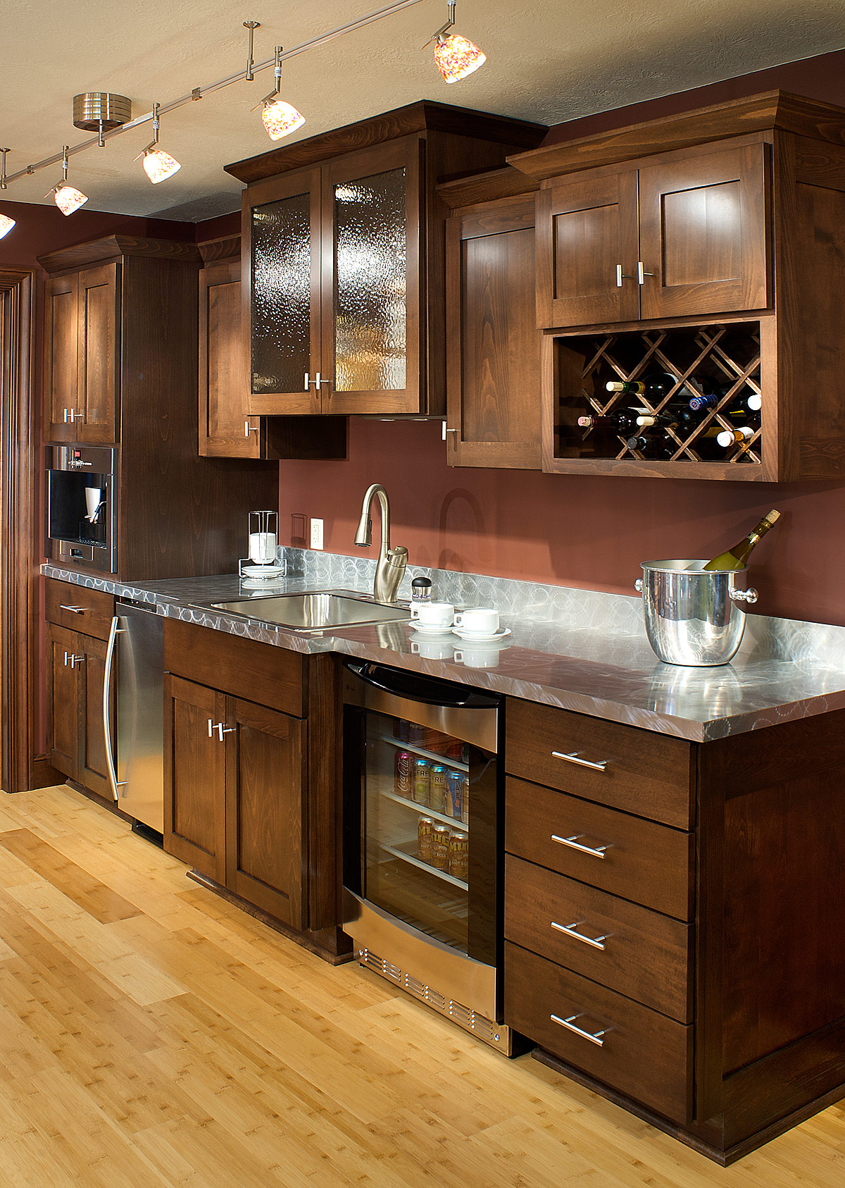 European Beech Wet Bar