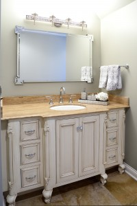 Inset Furniture Style Sink Cabinet